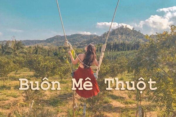 Vé máy bay Vietnam Airlines Hà Nội đi Buôn Mê Thuột