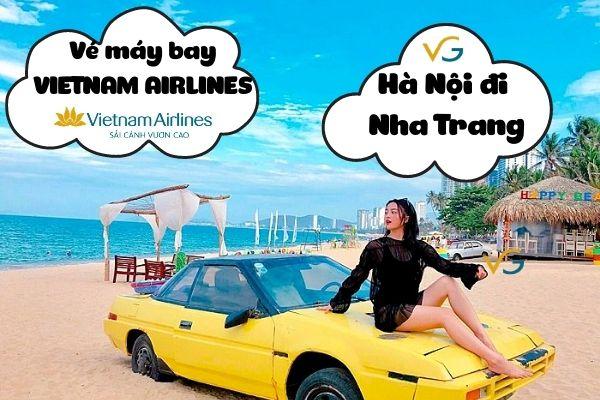 Vé máy bay Vietnam Airlines Hà Nội đi Nha Trang