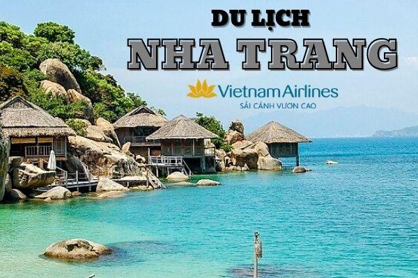 Vé máy bay Vietnam Airlines Sài Gòn đi Nha Trang
