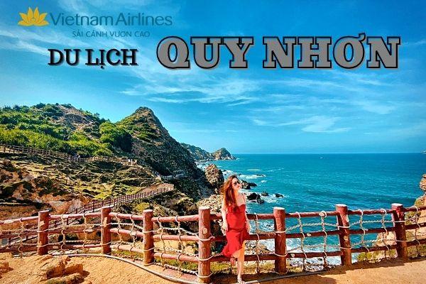 Vé máy bay Vietnam Airlines Sài Gòn đi Quy Nhơn
