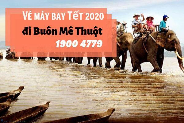 Vé máy bay Tết 2020 Sài Gòn đi Buôn Mê Thuột giá rẻ