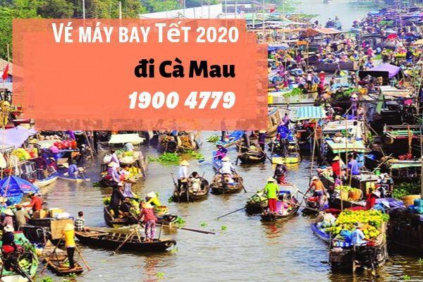Vé máy bay Tết 2020 Sài Gòn đi Cà Mau giá rẻ