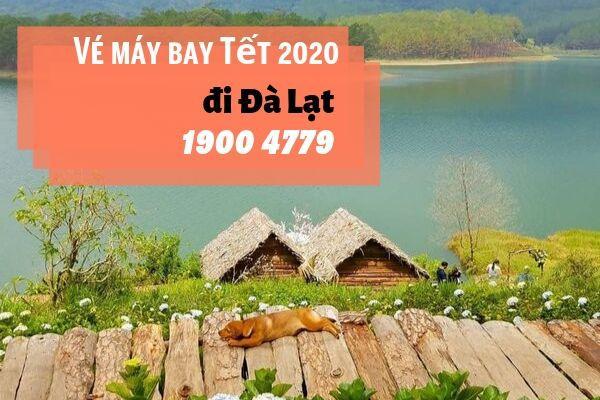 Vé máy bay Tết 2020 Sài Gòn đi Đà Lạt giá rẻ