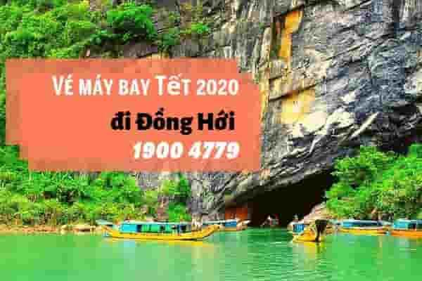 Vé máy bay Tết 2020 Sài Gòn đi Đồng Hới giá rẻ