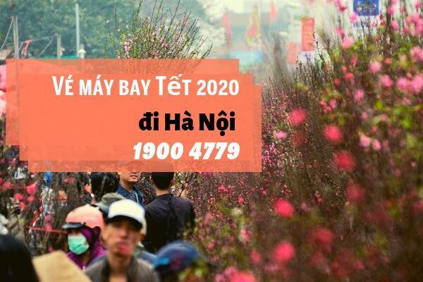 Vé máy bay Tết 2020 Sài Gòn đi Hà Nội giá rẻ