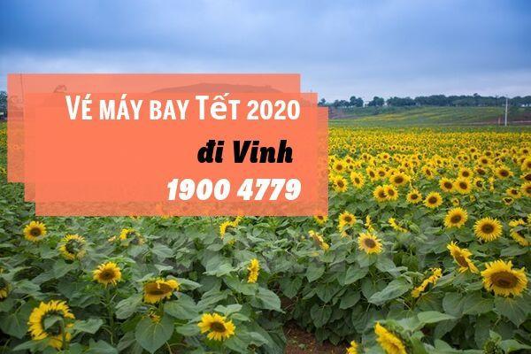 Vé máy bay Tết 2020 Sài Gòn đi Vinh giá rẻ