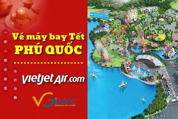 Vé máy bay Tết đi Phú Quốc Vietjet