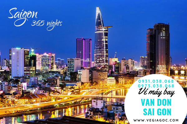 Vé máy bay Vân Đồn đi Sài Gòn