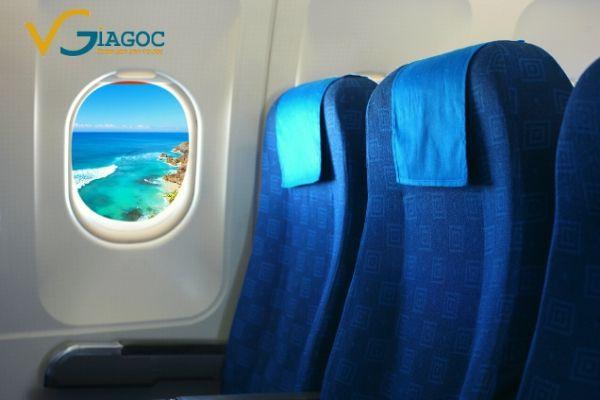 Vì sao ghế máy bay thường có màu xanh