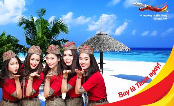 Vietjet giá rẻ đi Nha Trang