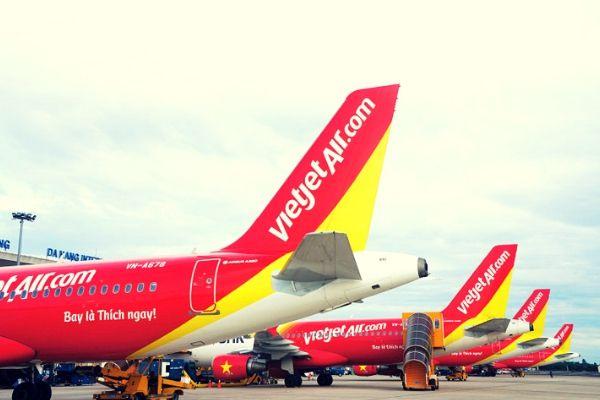Vietjet mở đường bay mới Nha Trang Đà Nẵng