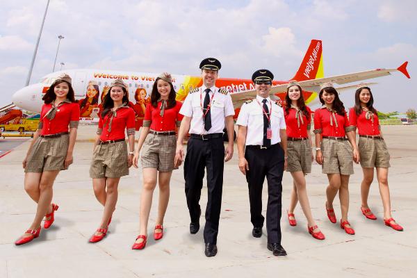 Vietjet Air mở thêm 5 đường bay mới từ Cần Thơ