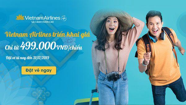 GIÁ VÉ TẾT ÂM LỊCH 2020 CHỈ TỪ 499K VIETNAM AIRLINES