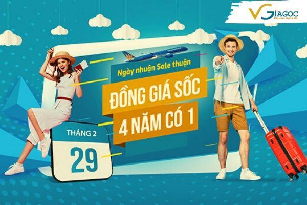 Lần đầu tiên Vietnam Airlines bán vé đồng giá chỉ 199 000đ