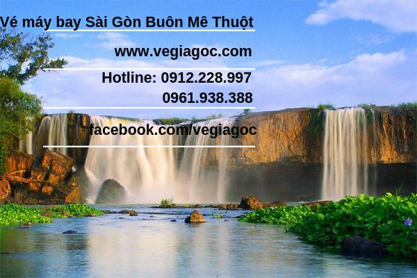 Vé máy bay Sài Gòn đi Buôn Mê Thuột
